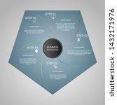 business infographics  geometry ... | Shutterstock .eps vector #1432171976