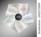 business infographics  geometry ... | Shutterstock .eps vector #1432172009