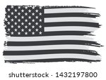 old grunge american flag... | Shutterstock .eps vector #1432197800