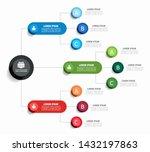 infographic design template... | Shutterstock .eps vector #1432197863