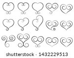 """""""hand drawn vector icon set on... 