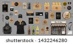 corporate branding identity... | Shutterstock .eps vector #1432246280