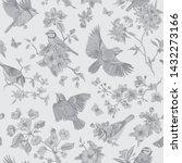 seamless pattern. classis... | Shutterstock .eps vector #1432273166