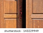 Heavy Firs Doors In The...