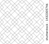 seamless pattern. modern... | Shutterstock .eps vector #1432305746