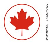 happy canada day. 1st  july.... | Shutterstock .eps vector #1432340429