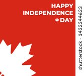 happy independence day of... | Shutterstock .eps vector #1432344623