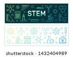 science  technology ... | Shutterstock .eps vector #1432404989