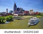 Skyline Of Downtown Nashville ...