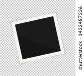 polaroid photo frame. square... | Shutterstock .eps vector #1432487336