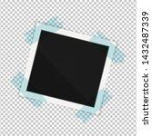 polaroid photo frame. square... | Shutterstock .eps vector #1432487339
