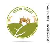 farm fresh of vector emblems... | Shutterstock .eps vector #1432487963