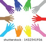 vector illustration of colorful ...   Shutterstock .eps vector #1432541936