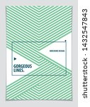 abstract modern vector minimal... | Shutterstock .eps vector #1432547843