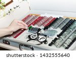 ophthalmologists are preparing... | Shutterstock . vector #1432555640