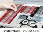 ophthalmologists are preparing... | Shutterstock . vector #1432555643