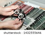ophthalmologists are preparing... | Shutterstock . vector #1432555646