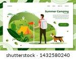 vector illustration    tourist... | Shutterstock .eps vector #1432580240