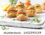 Snack Cakes Profiteroles With...