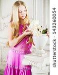 portrait of attractive girl...   Shutterstock . vector #143260054