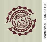 red basis rubber grunge texture ... | Shutterstock .eps vector #1432611119