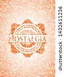 nostalgia abstract orange...   Shutterstock .eps vector #1432611236
