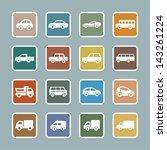 cars pictogram | Shutterstock .eps vector #143261224