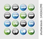 transport icon set | Shutterstock .eps vector #143261290