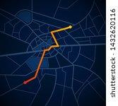 city map gps navigation street...