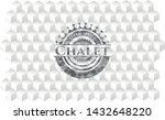 chalet grey emblem. retro with... | Shutterstock .eps vector #1432648220