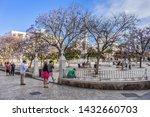 malaga  spain   june 2  2018 ...   Shutterstock . vector #1432660703