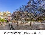malaga  spain   june 2  2018 ...   Shutterstock . vector #1432660706