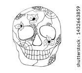 vector hand drawn illustration... | Shutterstock .eps vector #1432663859