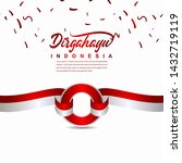 indonesia independence day... | Shutterstock .eps vector #1432719119