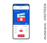 booking tickets smartphone...