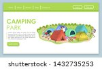 camping festival landing page...