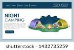 night camping landing page...