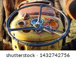 A Vintage Tractor Steering...