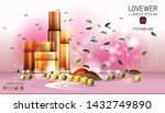 cosmetic design template.... | Shutterstock .eps vector #1432749890