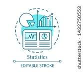 statistics study  scientific...   Shutterstock .eps vector #1432750553