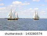 Traditional Sailing Ships On...
