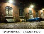 Parking Lot At Night  Yard...