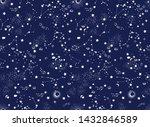 space galaxy constellation... | Shutterstock .eps vector #1432846589