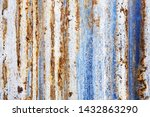 background of peeling paint and ... | Shutterstock . vector #1432863290