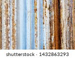 background of peeling paint and ... | Shutterstock . vector #1432863293