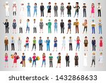 set of successful business... | Shutterstock .eps vector #1432868633