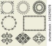frames and design elements... | Shutterstock .eps vector #143290078