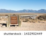 sign at the rio grande gorge... | Shutterstock . vector #1432902449
