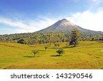 arenal volcano  costa rica | Shutterstock . vector #143290546