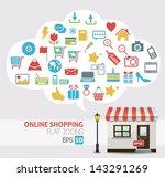 online shopping vector   online ...